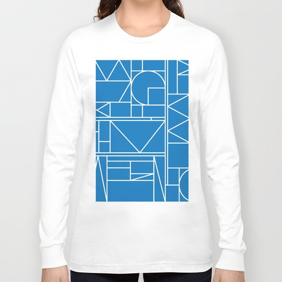Kaku Blue 2 Long Sleeve T-shirt