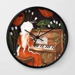 The Magic of Music Wall Clock