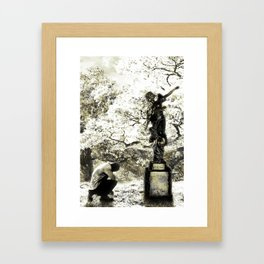Angela's Sway Framed Art Print
