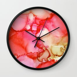 Sunset Dreaming Wall Clock