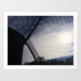 Windmill II Art Print