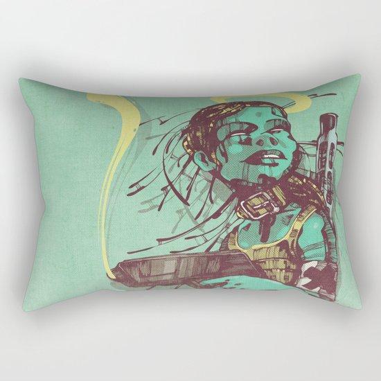 Guard II. Rectangular Pillow