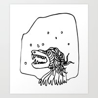 Monster Star Art Print