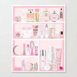 The Pink Medicine Cabinet Canvas Print