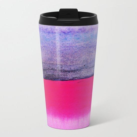 Abstract Landscape 92 Metal Travel Mug