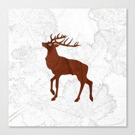 Les Bois Canvas Print