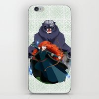 merida iPhone & iPod Skins featuring Merida by Karrashi