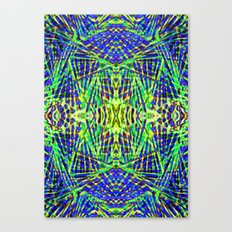 Tribal green Canvas Print