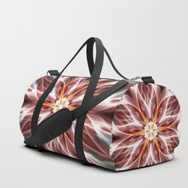 Burning hot electric flower Duffle Bag