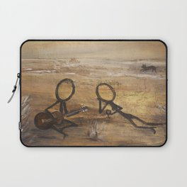 on the beach Laptop Sleeve