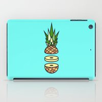 pineapple iPad Cases featuring Pineapple by Jan Luzar