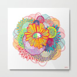 LUXE Bloom 3 Metal Print
