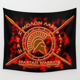 Spartan warrior Wall Tapestry
