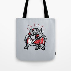 Rumble of the Rexes Tote Bag