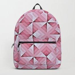 Pink Geo Pattern Backpack