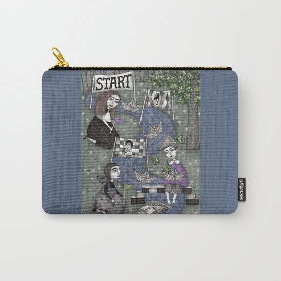 The Boat Race Carry-All Pouch