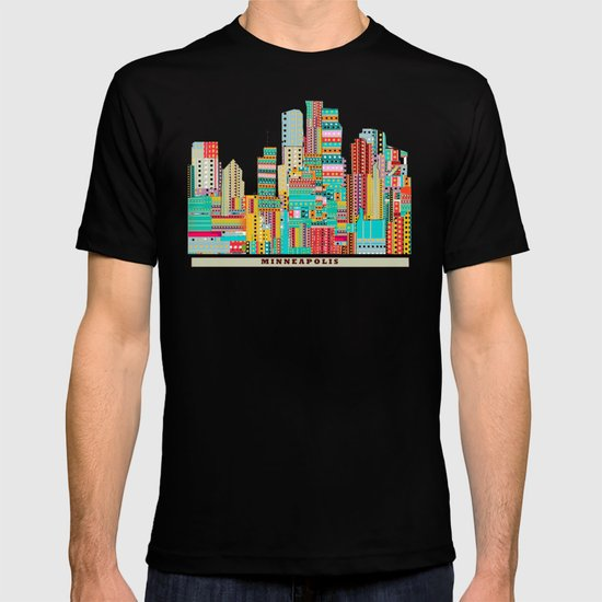 Minneapolis city  T-shirt