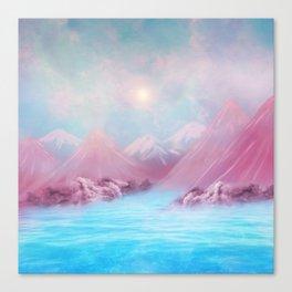 Positive morning Canvas Print