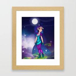 1000 Stars Framed Art Print