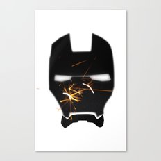 UNREAL PARTY 2012 AVENGERS IRON MAN SPARKS FLYERS  Canvas Print