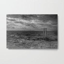 Posts In The Marsh Metal Print
