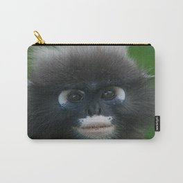 Dusky Leaf Monkey Portrait Carry-All Pouch