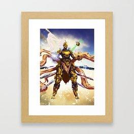 Erohix Lvl 1.5  Framed Art Print