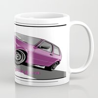 vw Mugs featuring VW  by Valerie Agrusa Photography
