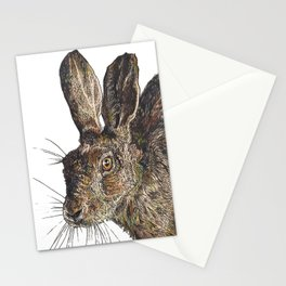 Hare II Stationery Cards