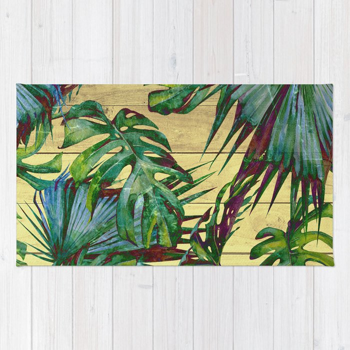 Palm Leaf Rug Rugs Ideas