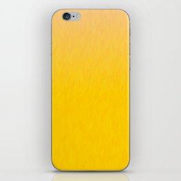 Golden orange and honey yellow ombre flames texture iPhone Skin