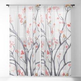 Spring Sheer Curtain