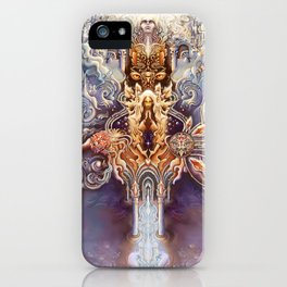 Sentient Network iPhone Case