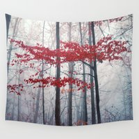 woodland Wall Tapestries featuring Woodland Fantasy by Olivia Joy StClaire