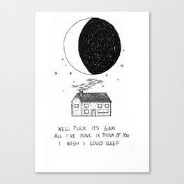 Haiku #2 Canvas Print