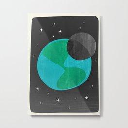 Earth II Metal Print