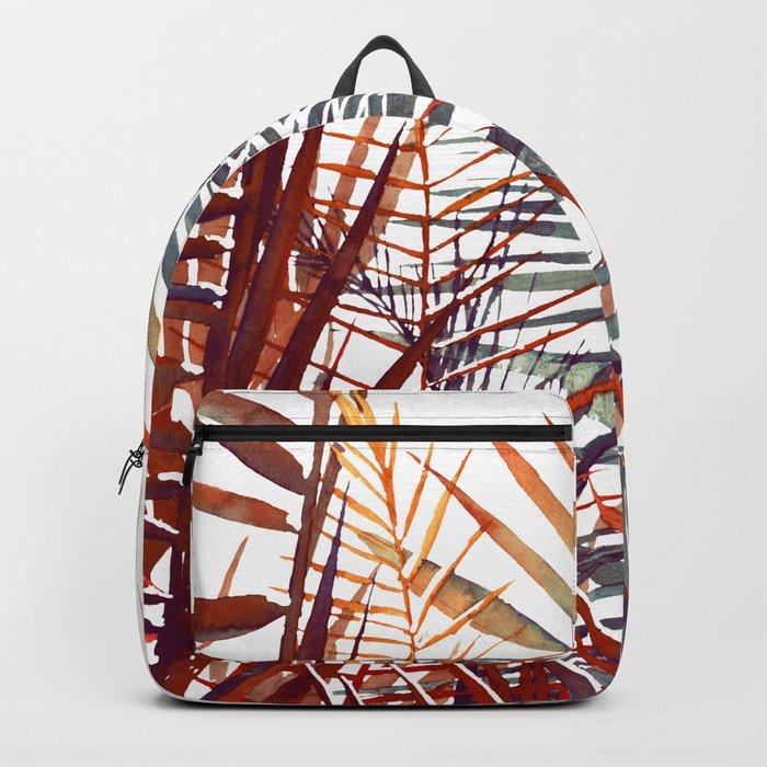 Arecaceae - household jungle #4 Backpack