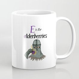 Cuss Words for Kids: E is for Elderberries Coffee Mug