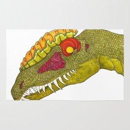 Dilophosaurus Rug
