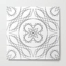 Geometric #4b Metal Print