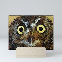 """Owlivia"" Mini Art Print"