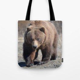 Alaskan Grizzly Bear - Spring Tote Bag