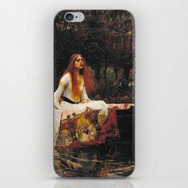 John William Waterhouse - The lady of shalott iPhone Skin