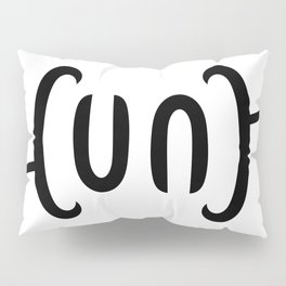 Ambigram Cunt Pillow Sham