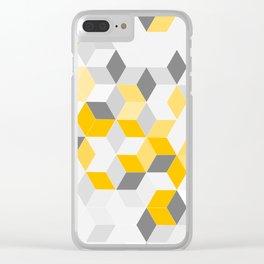 Yello Dimension Clear iPhone Case