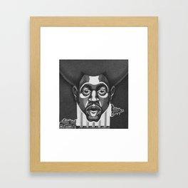 AFRODOTS Framed Art Print