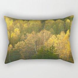 Forest In Sunset Tones Rectangular Pillow