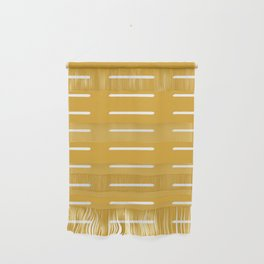 organic / yellow Wall Hanging