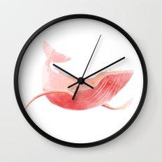 Whale Wall Clock