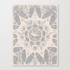 whale journal Canvas Print